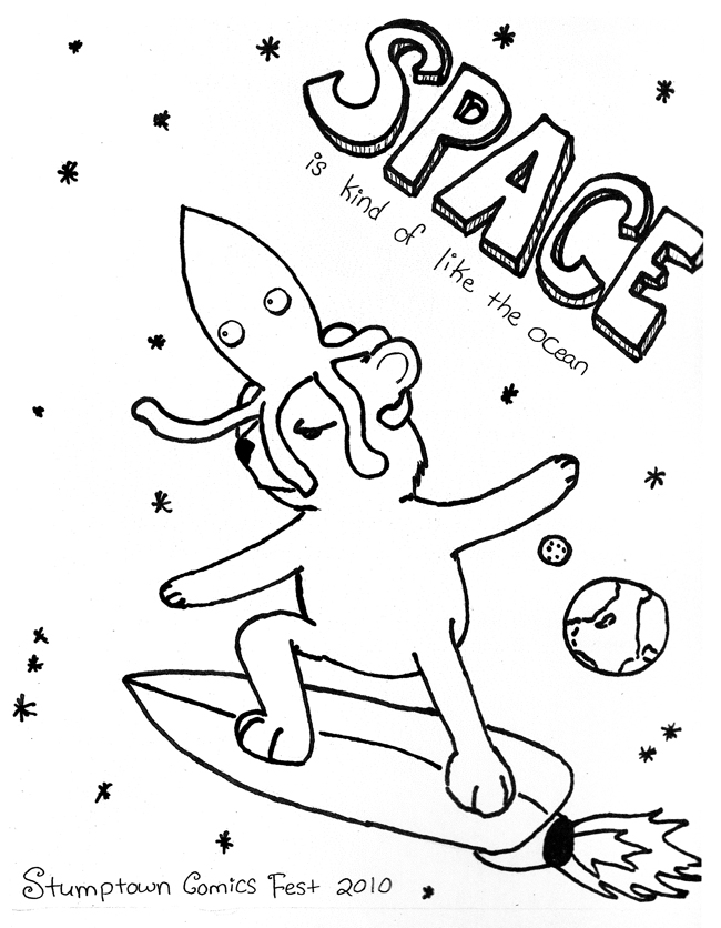Space is Kinda Like the Ocean: Cover by Shannon Easley